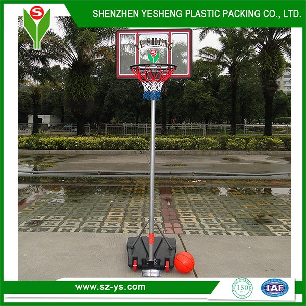 Indoor portable basketball systems for teenager