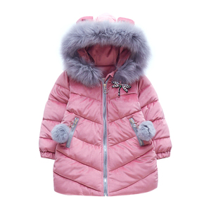 China Manufacturer Kids Boutique Winter Clothing Girls Winter Coat
