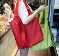 Eco-friendly Recycle Portable Waterproof Folding Shopping Bags