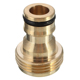 Custom brass garden hose pipe tube quick connector