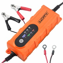 Smart Fast Charge 12V Car Battery Charger For 1.2-120Ah Battery