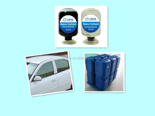 High heat insulation nano glass coating for car windshields