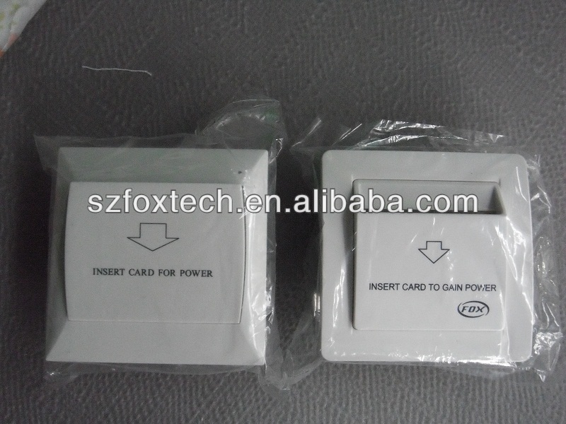 FOX high quality hotel energy saving switch for hotel guest room