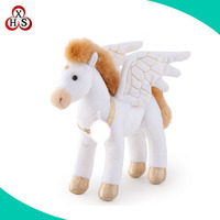 Lovely plush soft stuffed flying horse toy