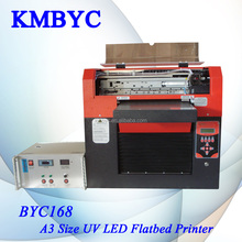 High quality digital uv printer from China direct factory/can print on any hard flat materials
