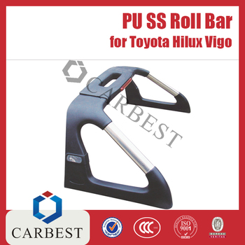 High Quality PU SS Roll Bar for Toyota Hilux Vigo