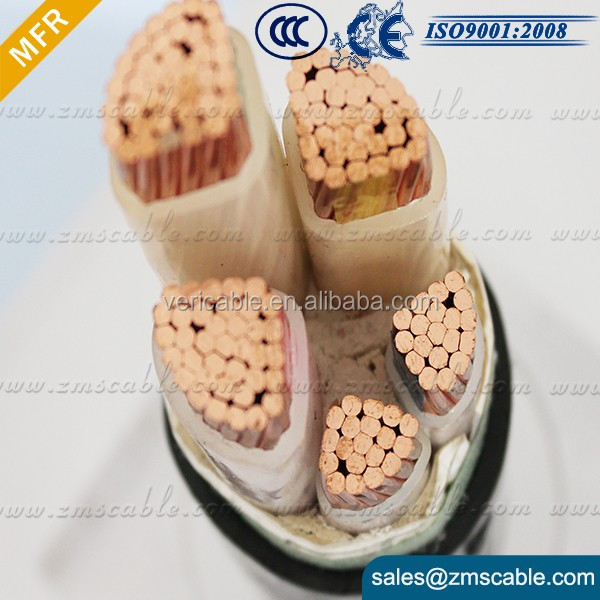 flame retardant and fire-resistant crane pendant control cable