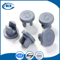 Butyl rubber stopper for frozen dry/antibiotics..