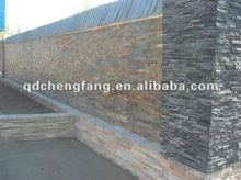 natural slate prefabricated stacked stone tiles
