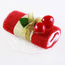 Lovely terry cotton cake towel/gift towel/christmas towel
