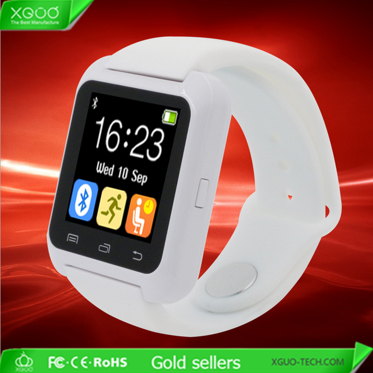 Wholesale High quality ce rohs u8 smart watch bluetooth smart watch android
