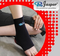 2016 New Design Good Compression Red/Black Nylon Ankle Support