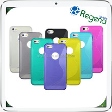 color pvc phone waterproof case s style for iphone 5 5c 5s