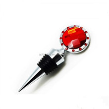 Top Quality Fashion Personalized 3D Custom Metal Wine Stoppers