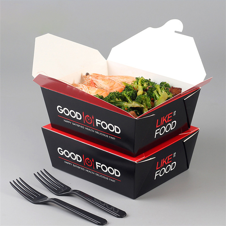 Biodegradable noodle takeout box with factory supplier