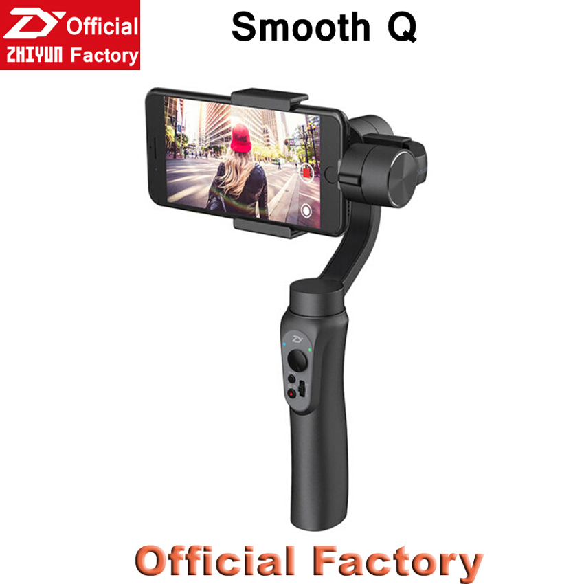 Zhiyun Factory Wholesale Zhiyun Smooth <strong>Q</strong> Gimbal Stabilizer For Smartphone Mobile phone Seek CANADA Dealers