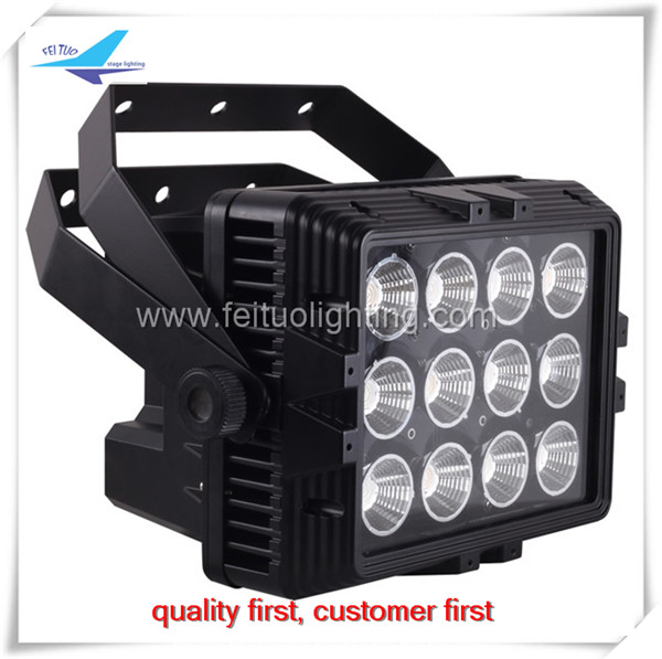 Wireless Battery RGBWA Led Wall Washer 12x12w 6IN1 DMX Control IP65 Wall Washer Light Led