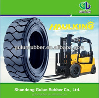 China high quality GULUNolid tire solid forklift tire 18*7-8