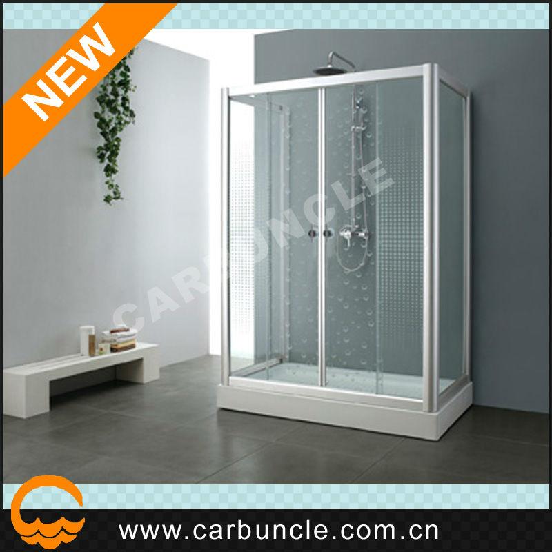 freistehende 3 seitig glas duschabtrennung mit glas duscht r teile jl164e dusche zimmer produkt. Black Bedroom Furniture Sets. Home Design Ideas