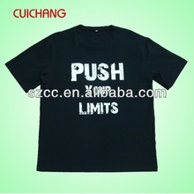 o neck t shirt design for men&fashion popular black t shirts
