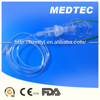 Disposable nebulizer with mask oxygen tubing CE/FDA/ISO Approved DEHP free