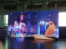 cheap price !!!!!!!led display big billboard, hanging curtain flexible soft led mesh curtain screen P10/P20mm