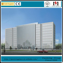 Steel structural glass curtain walls for building DS-LP588