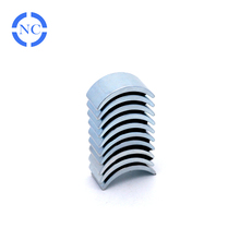 High coercive voice coil concave rare earth motor magnets
