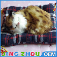 High qualtiy new design cute and lifelike plush cat toy for different ages people