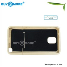 wallet leather case for samsung galaxy s4 active wood and bamboo