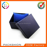 Handmade Elegant Watch Gift Box with Color Pillow Insert