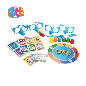 Happy liar toy family board game for kids