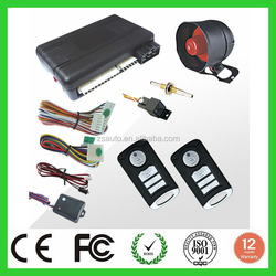 NEW arrival one way car alarm with remote engine start function