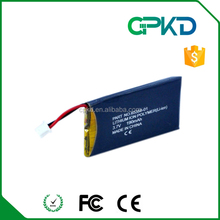 190mAh 3.7V Li-Polymer Headphone Battery for CS50 compitable battery