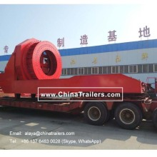 Windmill /Wind Blade Teniscopic Trailer can carry 450 ton for wind power industry