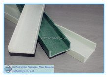 High strength Fiberglass FRP pultruded profiles thin wall channel on sale