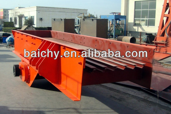 ISO Proved vibration pan feeder From Baichy Machinery