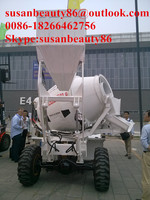 Self Loading Concrete Mobile Batching Plant Made In India for Sale
