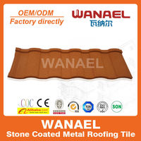 Roman architectural design of house/Wanael villa roof tile/light weight spanish tile roof,cheap roofing materials