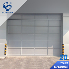 Cheap Aluminium Alloy Carbarn Gate Electric Automatic Sectional Skin Garage Door Panel