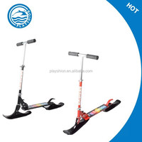 Cool made in China 2 in 1 multifunction kids snow ski sled