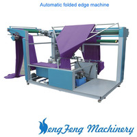 HF Textile Finishing Machinery Cloth automatic folded edge machine