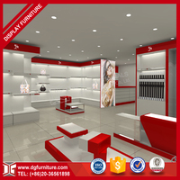 Top designer design decoration for shoe shop