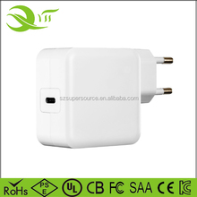 2017 USB Type C Charger 65W Wall Charger PD type c charger for Lumia 950xl/950, Nexus 5x/6p