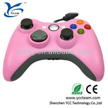 High quality hot selling wired game controller/joystick/game pad for xbox360 video game console