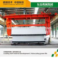 aerated autoclaved concrete block making line / fly ash and sand type automatic aac plant