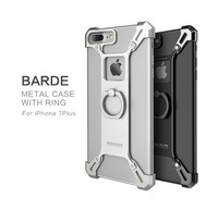 Nillkin Barde Series Gothic Aluminum Exquisite Strong Metal Ring Holder Case For iPhone 7/7 Plus HD-829