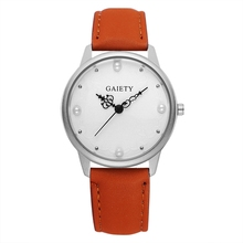 Watches Women GAIETY Quality Leather Pearl Dress Quartz Wristwatch Women Fashion Casual Sport Silver Dial Simple Vintage Watch