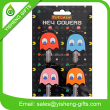 Animal Pattern Soft PVC Key Cover