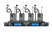 UHF 4 channels wireless microphone for conference system
